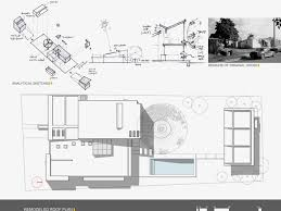 alhambra house urbana roof plan architectural drawings and