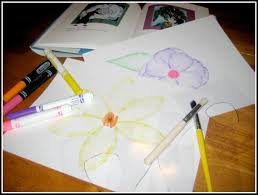 georgia o keeffe coloring pages relentlessly fun deceptively educational painting with markers
