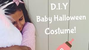 d i y baby halloween costume youtube