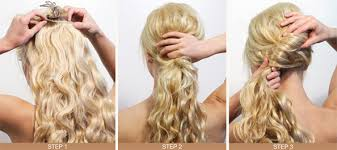 hairstyles with steps latest long hair step by step hairstyles for girls part 2