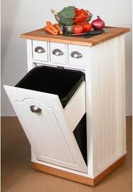 kitchen island w trash can portable islands with storage venture