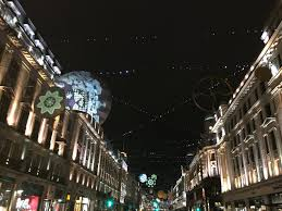 regent street lights u2014 sarah hall