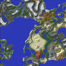 Realistic Map Of The World by That Minecraft Thread V1 0 0 A Skeleton Popped Out