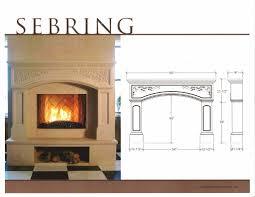 fireplace sizes binhminh decoration