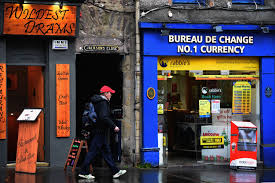 bureau de change commission exchange rates definition types