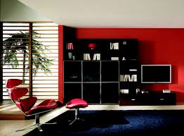 Black Living Room Ideas Enchanting Decorating With Red Black And Tan Red And Black