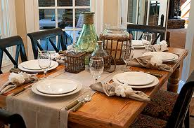 kitchen table setting ideas simple dinner table setting amazing casual kitchen table home