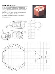 star box template paper boxes pinterest box templates favor