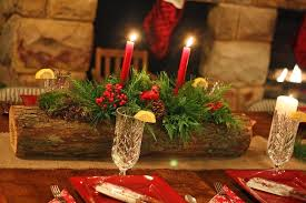 Homemade Christmas Floral Table Decorations by Diy Christmas Candle Centerpieces U2013 40 Ideas For Your Table