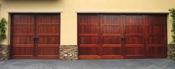 custom home garage wood custom