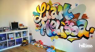 prix graffiti chambre graff chambre graffiti tag fresque chambre enfant graffeur toulouse