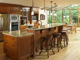 height of kitchen island dual height kitchen island