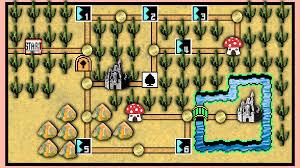 Super Mario World Map Realistic Super Mario World 3 Map By Jollypotato On Deviantart