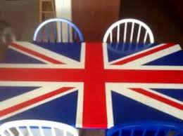 Union Jack Dining Chair Furniture Design Ideas Featuring Union Jacks And Flags General