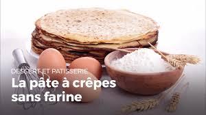 cuisine sans farine préparer une pâte à crêpes sans farine sans gluten recettes de