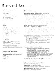 Best Skills For A Resume by Order Of Sections On A Resume