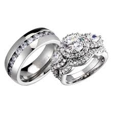 His And Hers Wedding Ring Sets by Best 25 His And Her Wedding Rings Ideas Only On Pinterest His