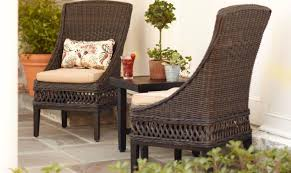 Wicker Patio Furniture Cushions - bench furniture outdoor patio chair cushions clearance home