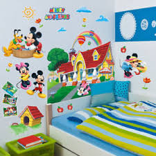 mickey mouse clubhouse bedroom pop 3d mickey mouse clubhouse wall stickers kids bedroom decor