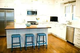 height of a kitchen island diy bar height kitchen island snaphaven
