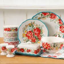 walmart the pioneer vintage 20 dinnerware set only 29