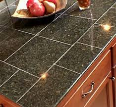 Granite Countertops And Kitchen Tile Best 25 Granite Tile Countertops Ideas On Pinterest Tile