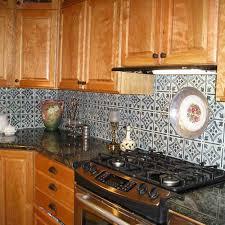 Tin Backsplashes - Tin tile backsplash