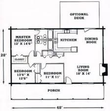 One Story Log Home Floor Plans | 14 log home floor plans one story cottage house fascinating nice