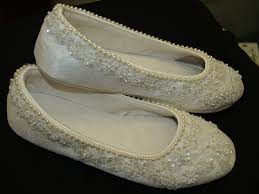 Wedding Shoes Ideas Flat Wedding Shoes Gallery Totally Awesome Wedding Ideas