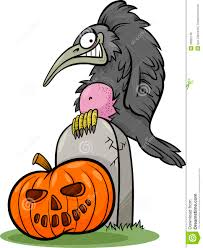 halloween graphics free clip art halloween pumpkin with crow cartoon royalty free stock images