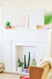 Diy Fireplace Cover Up Top 25 Best Fireplace Cover Up Ideas On Pinterest Brick