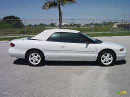 1996 chrysler sebring lxi related infomation specifications