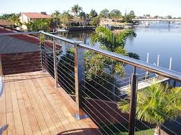 china modern outdoor galvanized steel deck railing china cable