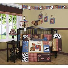 cowboy nursery bedding geenny western cowboy horse 13 piece crib bedding set free