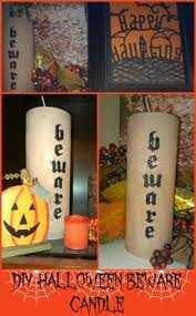 Recycled Halloween Crafts - this pringle can mummy is a fun recycled halloween craft for