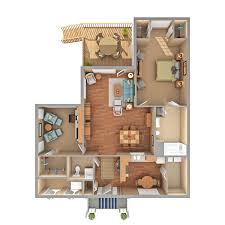 one bedroom cottage floor plans one bedroom duplex cottage with den carol woods