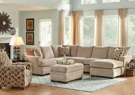 Rooms To Go Living Room Furniture by Brenton Court 2 Pc Platinum Sectional Living Room Sets Beige
