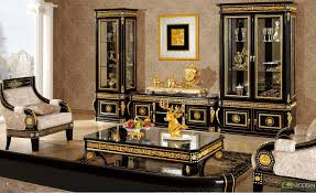 home design surprising black and gold living room decor picture