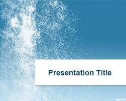 Water Powerpoint Templates by Water Ppt Template
