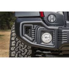 black jeep wrangler rugged ridge 11544 01 spartacus front bumper satin black 07 16