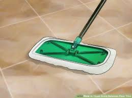 Cleaning Grout Lines 4 Ways To Clean Grout Between Floor Tiles Wikihow