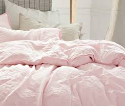 blush pink linen duvet cover stunning