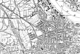 Greenwich England Map by Russell Of Whitchurch Somerset Bristol And London Area 1750