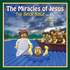 amazon com the miracles of jesus the brick bible for kids