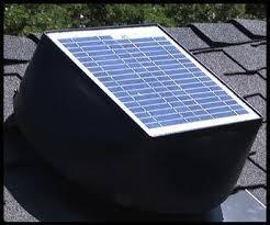 solar attic fan award winning solar powered fan attic review