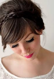 prom hairstyles with bangs hairstyle picture magz