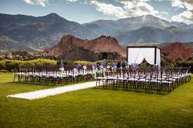 affordable wedding venues in colorado garden of the gods club colorado springs colorado how