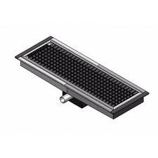 grille de cuisine caniveau de sol cuisine professionnel sortie horizontale grille l