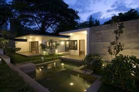 Contemporary Home Plans Traditional Thai Houses Baan Song Contemporary Home House Plans