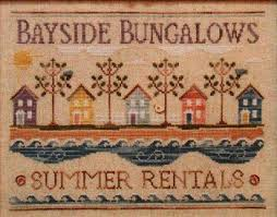 Country Cottage Needlework by Country Cottage Needleworks Bayside Bungalows With Thread